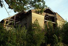 Ruiny Dworu w Silginach.Fot. Mieczysław Kalski